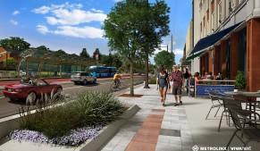 Centre Street rendering